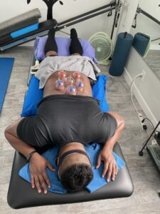 Myofascial Decompression for lumbar spine extensors